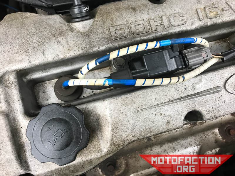 How to replace the spark plugs - Ford Laser KN and KQ 1 6L