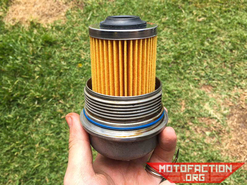 How to change the engine oil filter - VE and VF Holden Commodore V6 ...