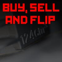Here is the logo for the buy, sell and flip section of MotoFaction.org's website.