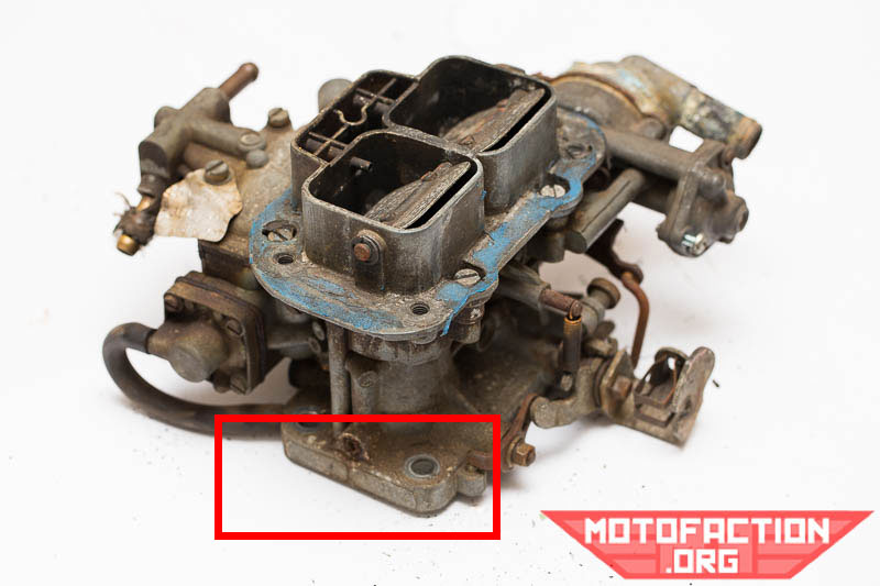 Identifying your Weber 32/36 carburetor and model