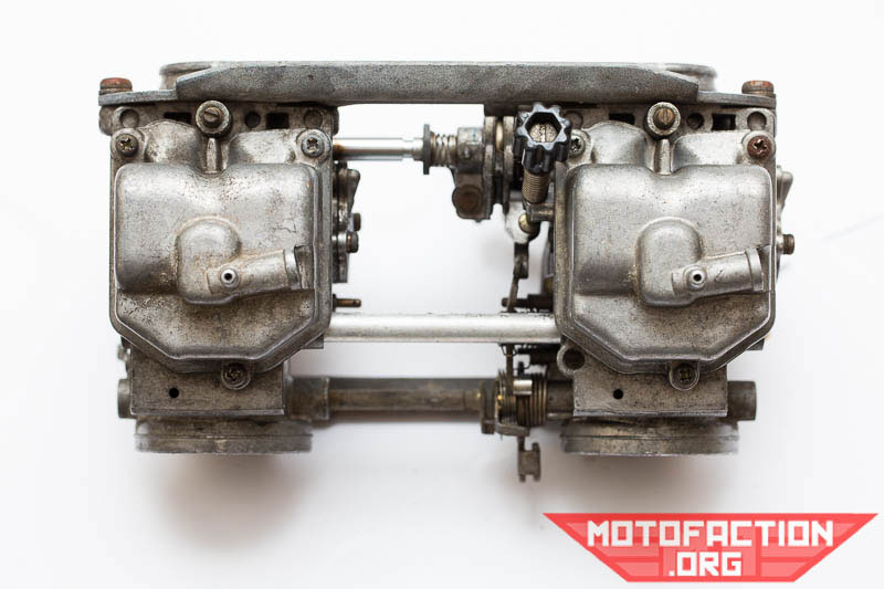 how to clean motorcycle carb without removing