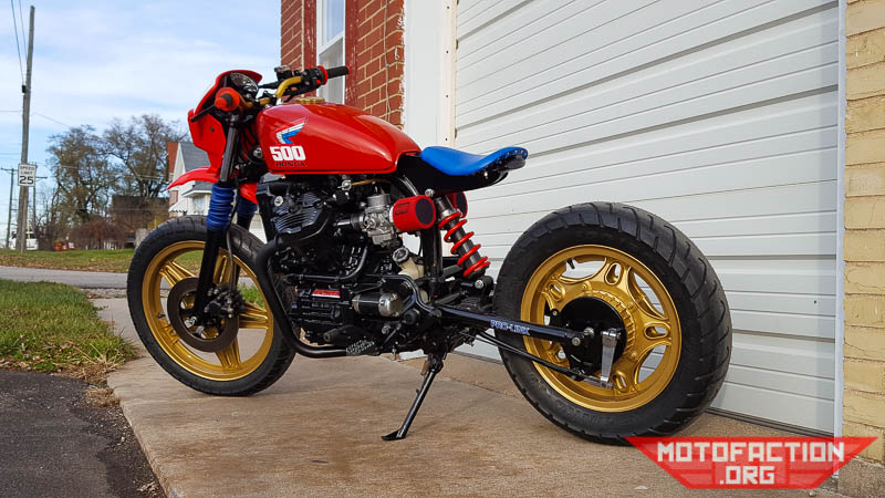 Heres A Monoshock Converted Honda CX500 Build Out Of Brick House Builds In Missouri United