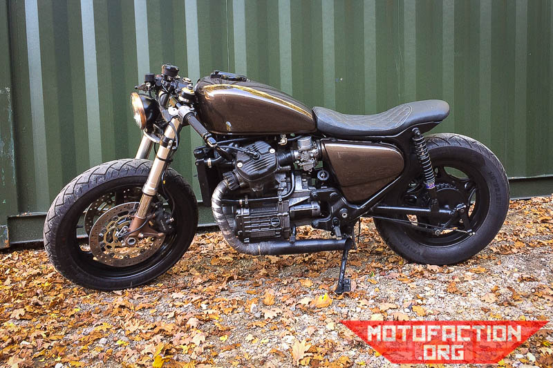 Here Are Some Photos Of A Honda CX500 Cafe Racer Conversion Done By Chris Fieldman From