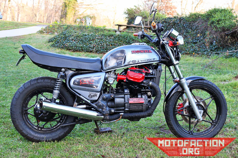 Heres A Honda CX500 Cafe Racer Build By Murray Feldman Of Murrays Carbs Titled The