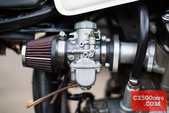 Can you extend the drain hoses on Murray's Mikuni VM34
