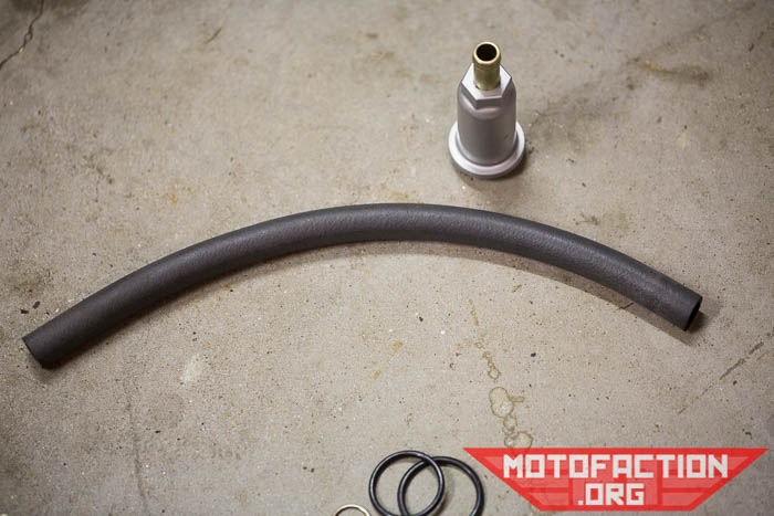 Bottle Breather Conversion Kit for Honda CX500 - A closer look