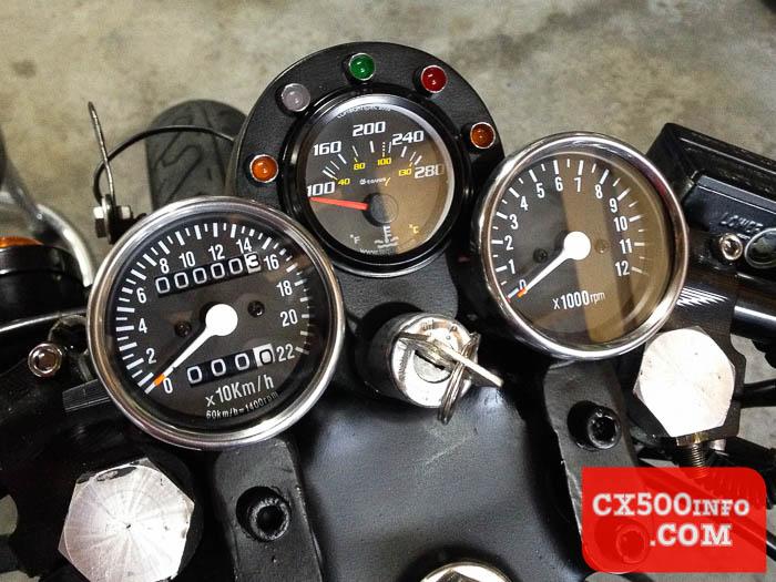Cafe Racer Gauges : Featured build honda cx canadian cafe racer by motomicah