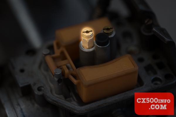 Honda CX500 Keihin Carburetors - How to check the jet sizes?