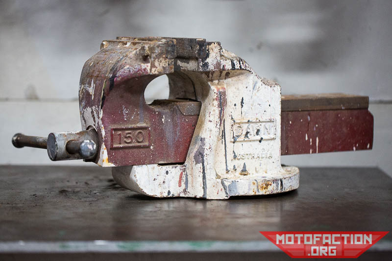 Dawn 150mm Cast Engineer S Bench Vice Or Vise Restoration Review