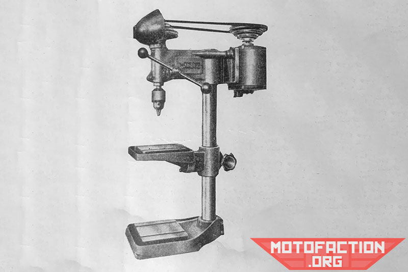 Here is a photo of a half-inch Waldown drilling machine, shown in a McPhersons brochure from 1951