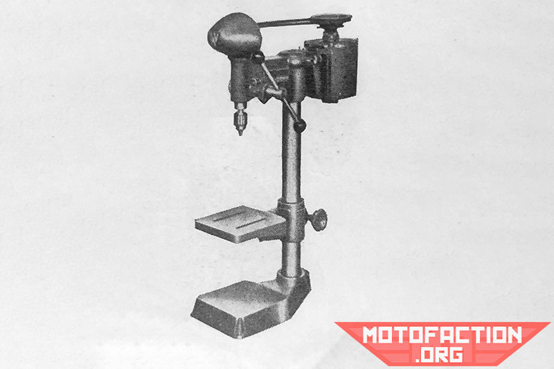 Here is a photo of a three-eights-inch Waldown drilling machine, shown in a McPhersons brochure from 1951